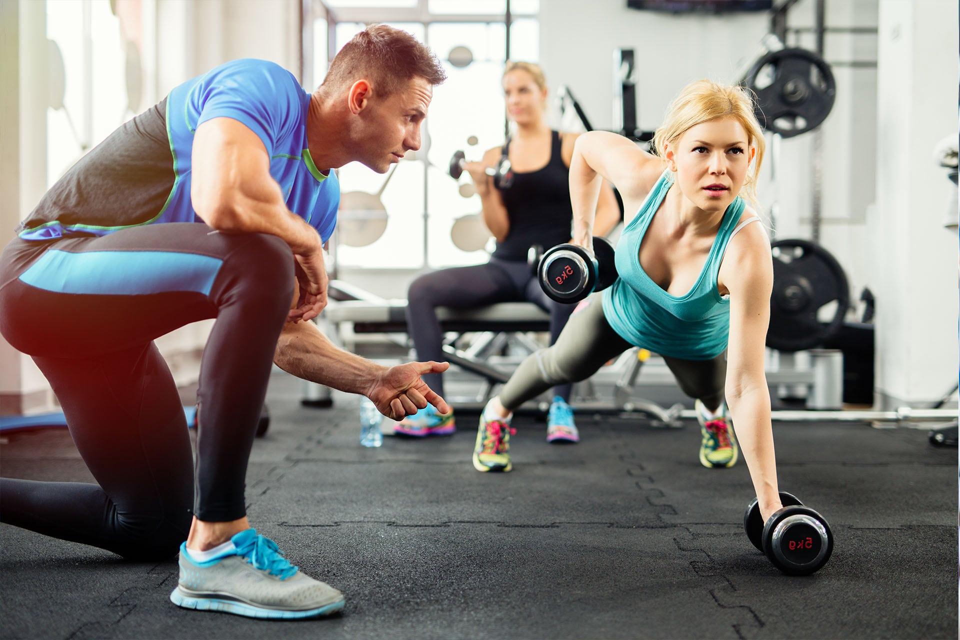 健身房私教训练
