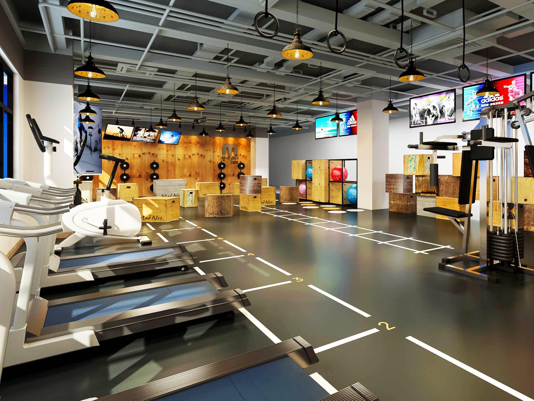健身房训练场地