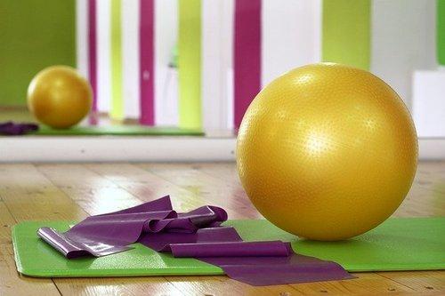 健身房健身球